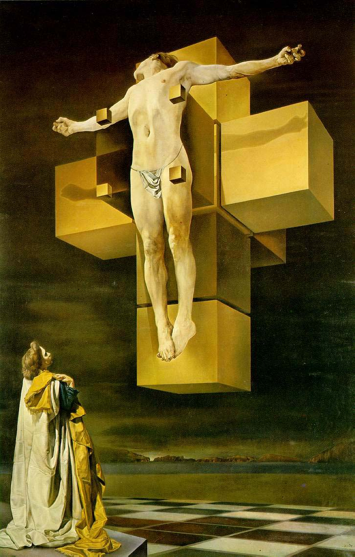 Salvador Dali_Crucifixion